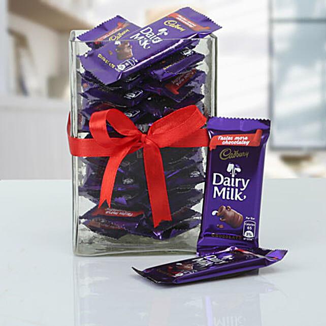 Jar Full Of Cadbury: Cadbury Chocolates