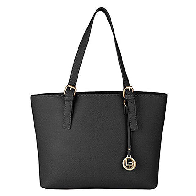 Lino Perros Charismatic Black Tote Bag: Handbag Gifts