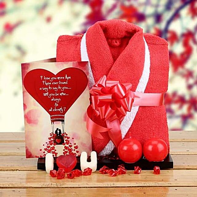 Love n Romance Hamper: Send Candles