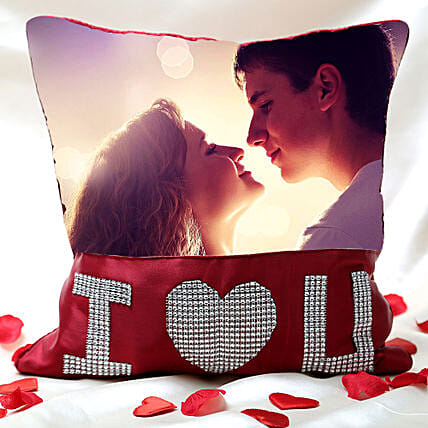Love Special Personalized Cushion: 1St Anniversary Gifts