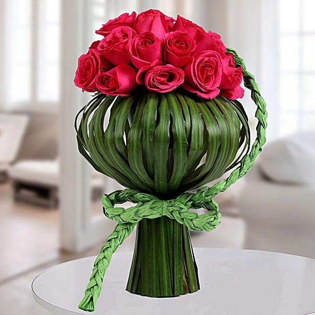 Lovely Pink Rose Arrangement: