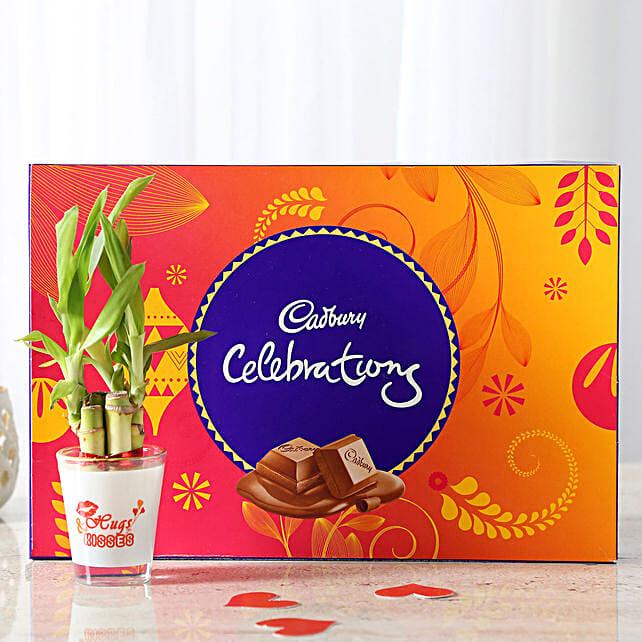 Lucky Bamboo & Cadbury Celebration Combo: