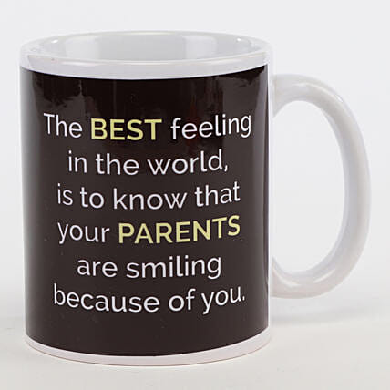 Make Your Parents Smile Mug: Personalised Mugs