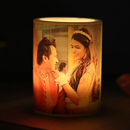 Me and You Personalized Candle: Send Gifts to Virudhunagar