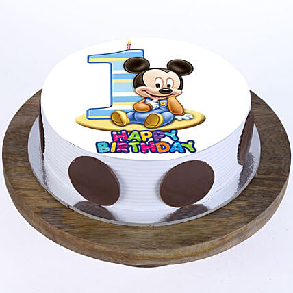 Mickey Mouse 1st Bday Cake
