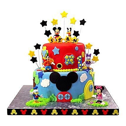 Mickey Mouse Clubhouse Cake Multi Tier Cakes