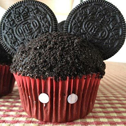 Mickey Mouse in a Cupcake: Send Cup Cakes