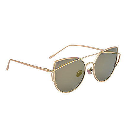 Mirrored Round Unisex Sunglasses: Sunglasses Gifts