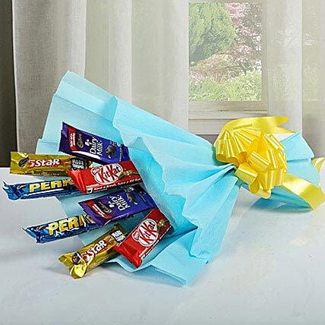 Mixed Chocolates Bouquet: