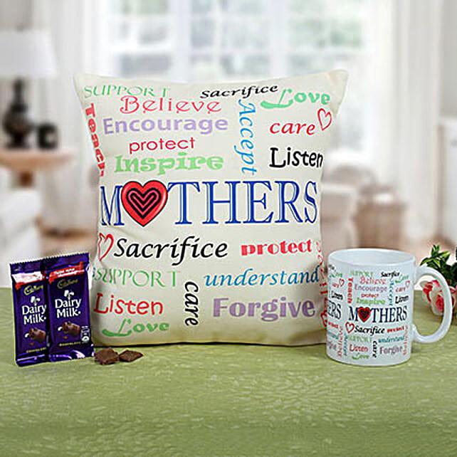 Mom Special Cushion N Coffee: Cushions and Mugs Combo