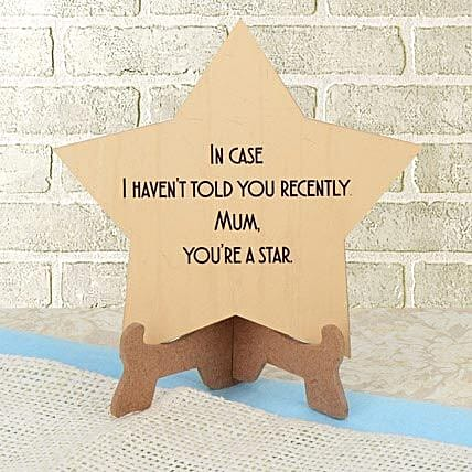 Mom You R A Star: Plaques Gifts