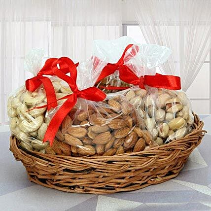 Nutritional Hamper with Rakhi: Gift Hampers