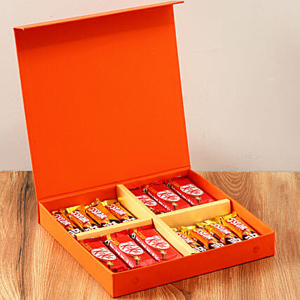 Orange FNP Gift Box Of Chocolates: Gift Ideas