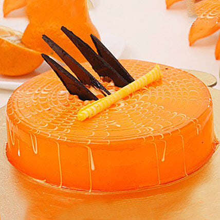 Orange Tangyliscious Cake: Gifts for Hug Day