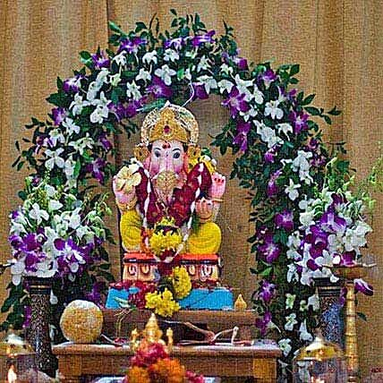 Orchids Special Ganpati Decoration: Ganesh Chaturthi Gifts