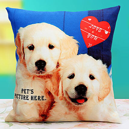 Pat the Pet Personalized Cushion: Retirement Gifts
