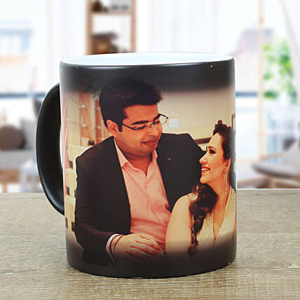 Personalised Black Magical Mug: Coffee Mugs