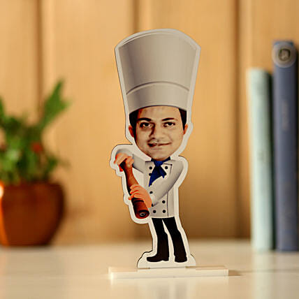 Personalised Chef Caricature: Unusual Gifts