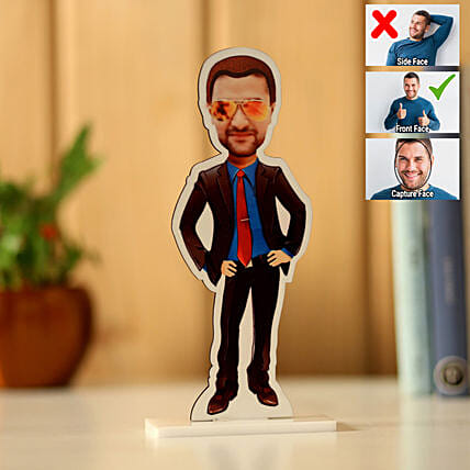 Personalised Man Caricature: Personalised Caricatures