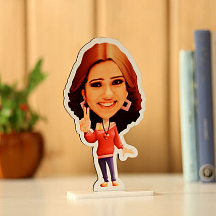 Personalised Pretty Girl Caricature: Caricatures
