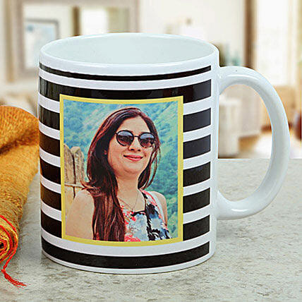 Personalised Printed Mug For Her: Friendship Day Personalised Mugs