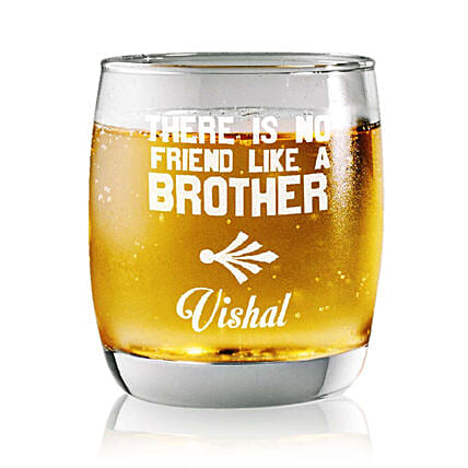 Personalised Set Of 2 Whiskey Glasses 2348: