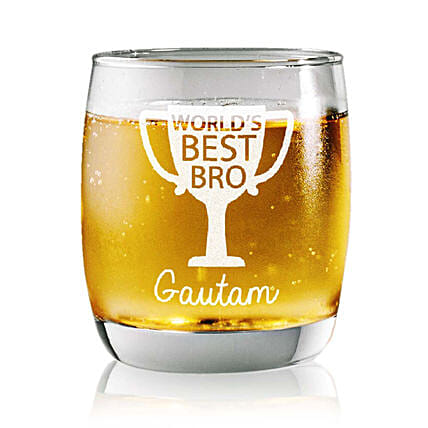 Personalised Set Of 2 Whiskey Glasses 2349: