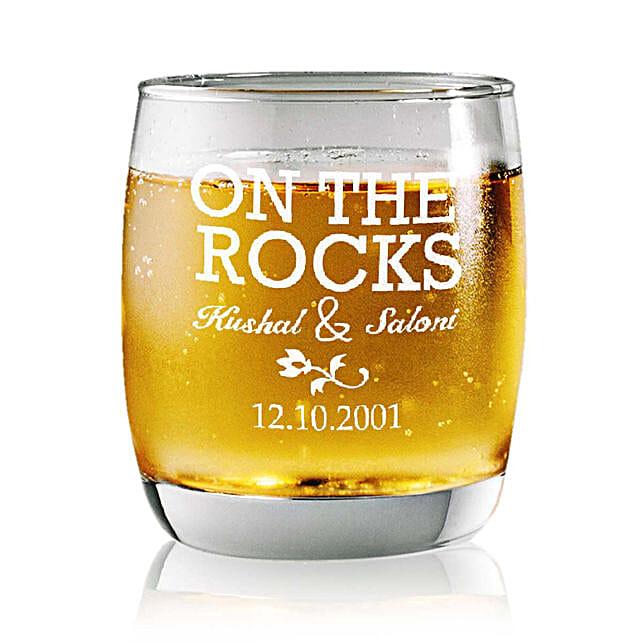 Personalised Set Of 2 Whiskey Glasses 2356:
