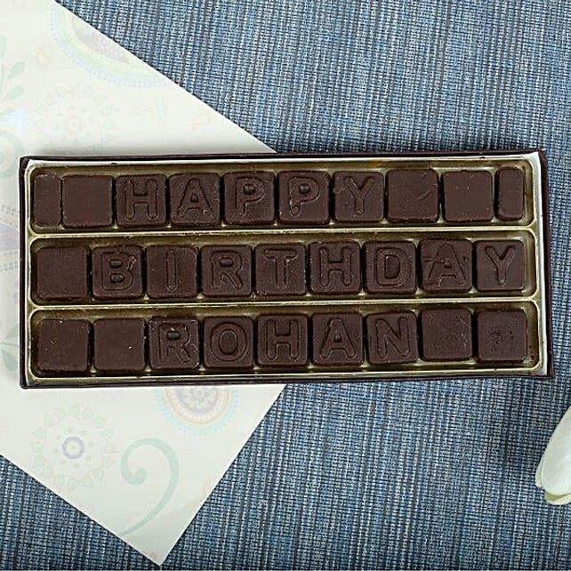 Personalized Birthday Chocolates: Personalised Chocolates