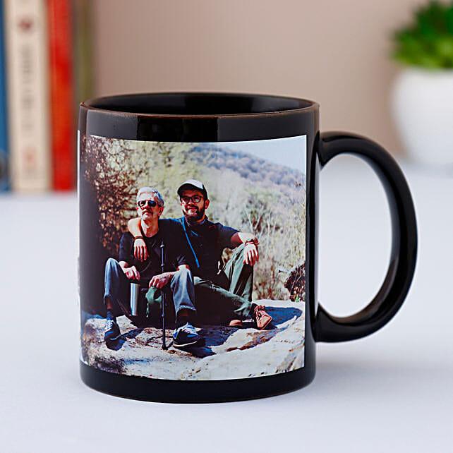 Personalized Black Mug: Personalised Mugs