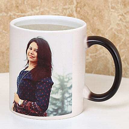 Personalized Color Changing Mug: Coffee Mugs