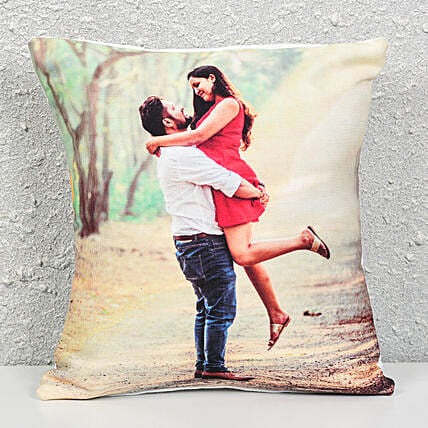 Personalized Cushion Gift: Send Gifts to Mandsaur