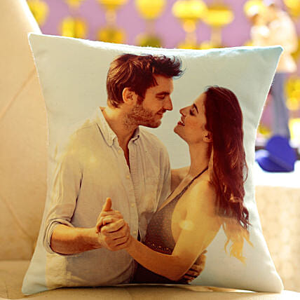 Personalized Cushion Gift: Send Gifts to Pilibhit