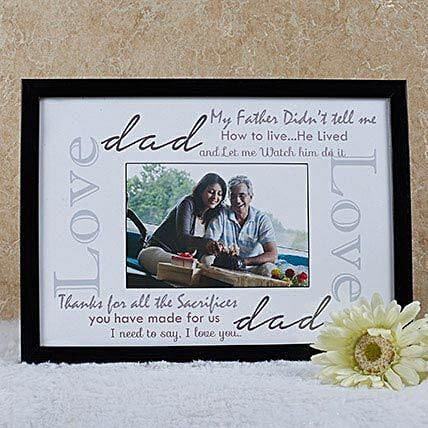 Personalized Fathers Day Frames Picture Frames For Fathers Day 2018