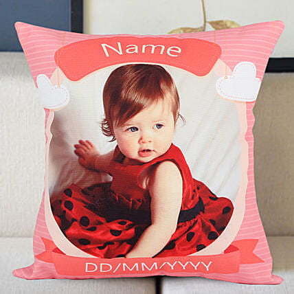 Personalized Little Angel Cushion: Gifts for 1St Birthday