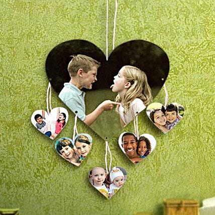Personalized Love On Wall: Rakhi Personalized Gifts