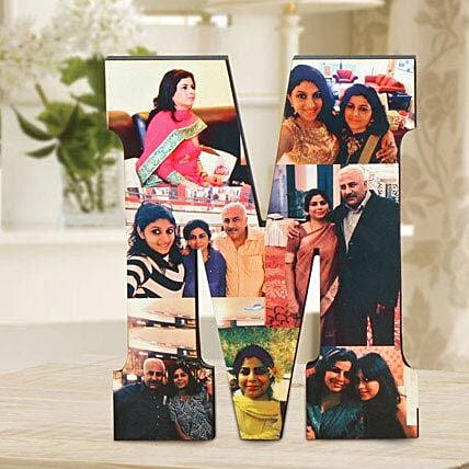 Personalized M Table Top: Personalised Gifts Belgaum