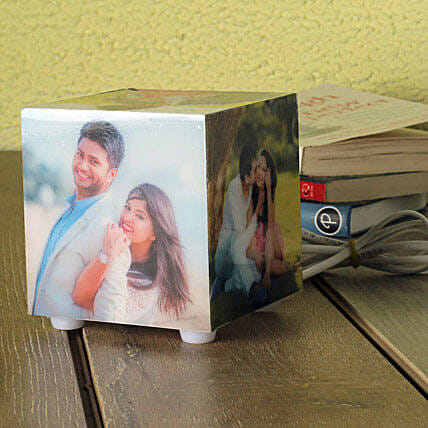 Personalized Memories Lamp: Gift Delivery in S Bhagat Singh Nagar