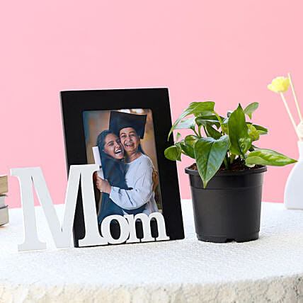 Personalized Mom Frame N Plant: