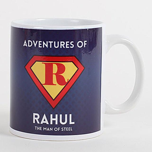 Personalized Mug for Adventurous Buddy: Anniversary Mugs