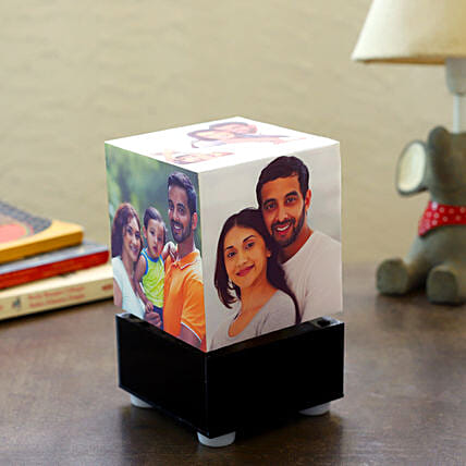 Personalized Rotating Lamp Mini: 25Th Anniversary Gifts
