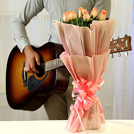 Pink Roses & Hearty Notes Combo:
