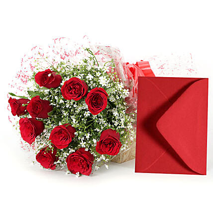 Precious Moment: Flower N Greeting Card