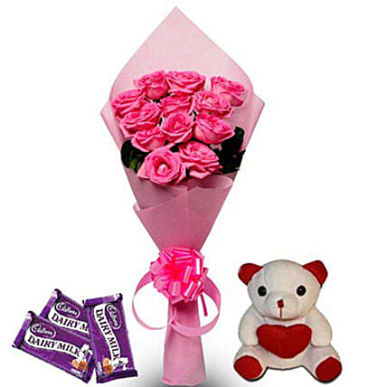 Pretty Pink hamper: Cadbury Chocolates