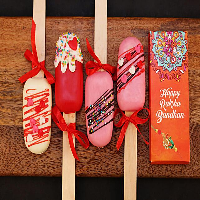 Raksha Bandhan Cakesicles and Chocolate Combo: