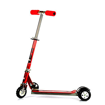 Red Ultra Durable Big Wheel Scooter: Toys and Games