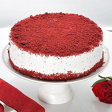 Red Velvet Fresh Cream Cake: Mothers Day Cakes
