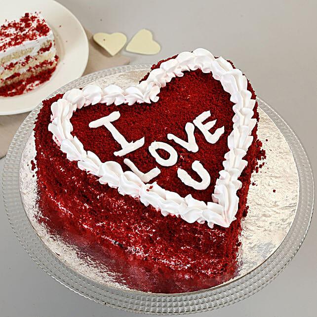 Red Velvet Love Cake: Valentine Heart Shaped Cakes