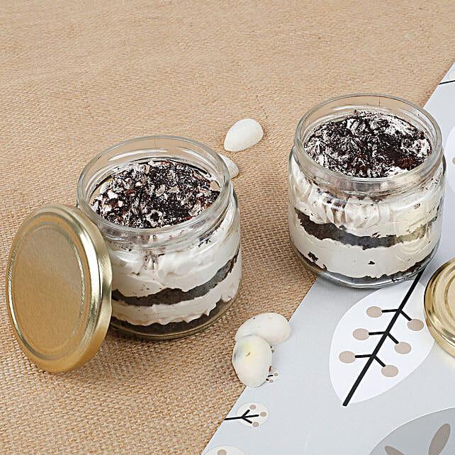 Set of 2 Trendy Tiramisu Jar Cake: Tiramisu Cakes