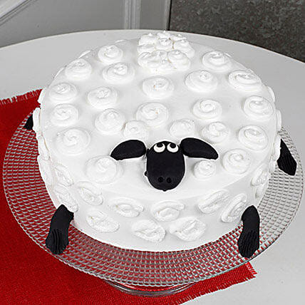 Shaun The Sheep Cake: Send Designer Cakes